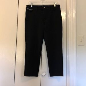 Pants - Size 8 Ellen Degeneres black stretch pants